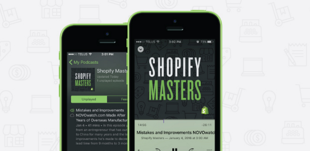 Shopify Just Launched an Ecommerce Marketing Podcast