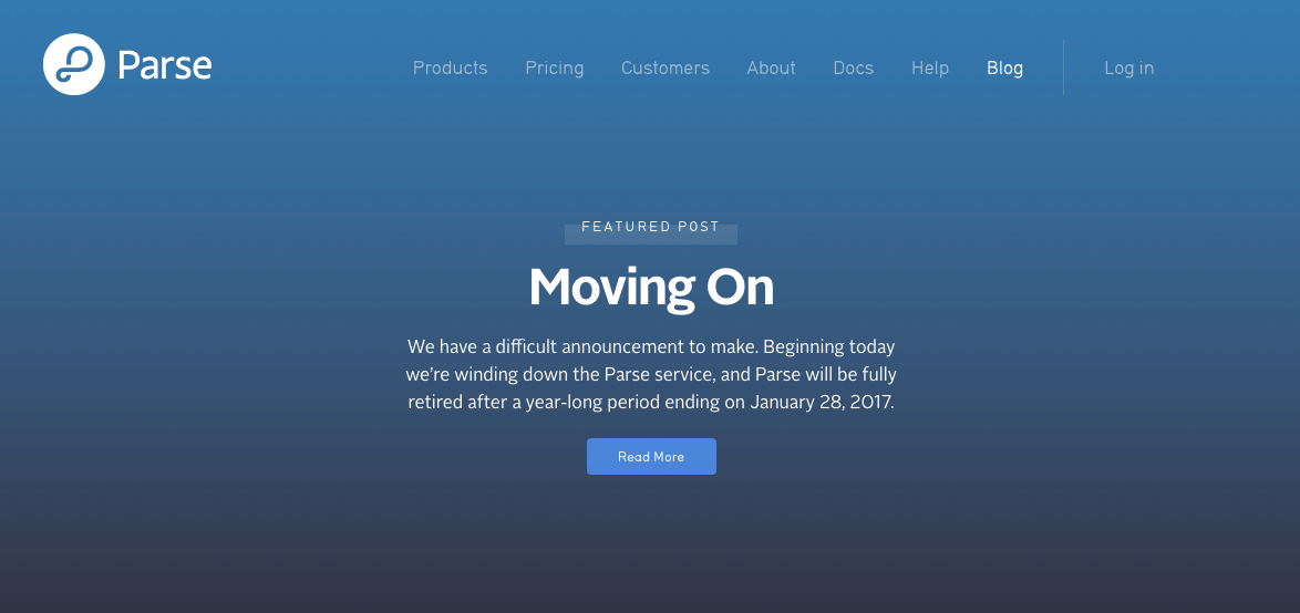 Facebook Enables Parse Server Push Notifications