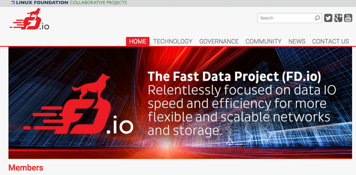 Linux Foundation Launches FD.io Open Source IO Services Framework