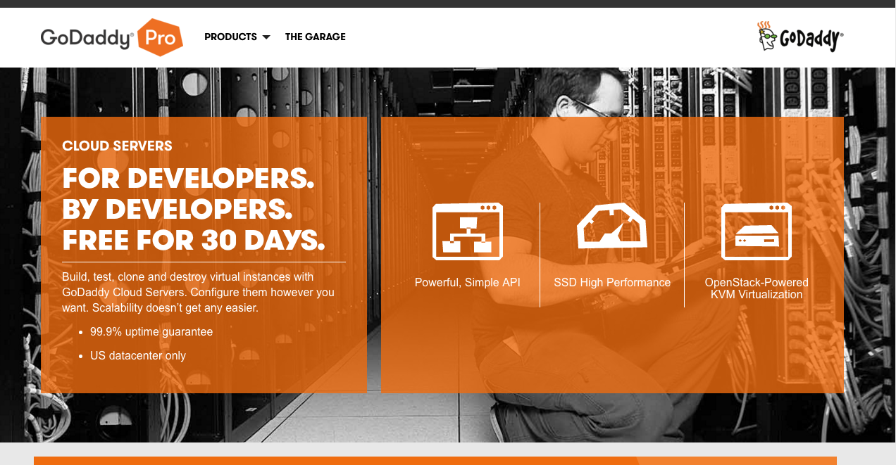 GoDaddy Launches Cloud Servers