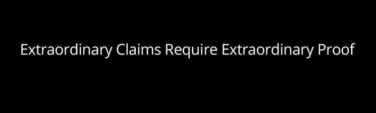 Craig Wright: Extraordinary Claims Require Extraordinary Proof