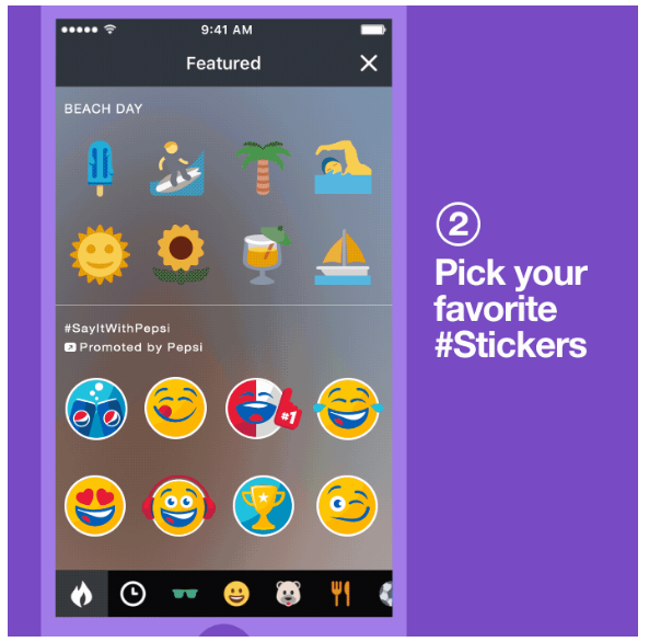 Twitter Partners with Pepsi to Launch Promoted #Stickers