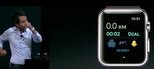 Apple Watch Gets Pokémon Go
