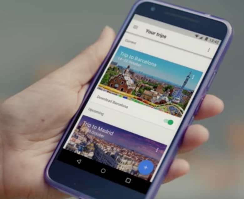 Google Launches 'Get Trips' Mobile App