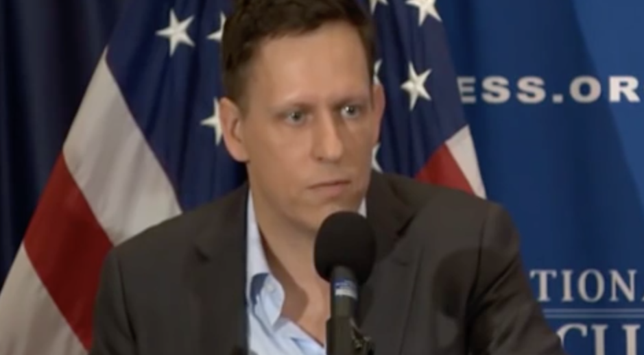 Tech Billionaire Peter Thiel Cites Trade as the Main Reason He Supports Trump
