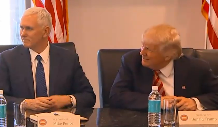 Tech Titans Meet With Trump: Video, Pics and Opening Transcript