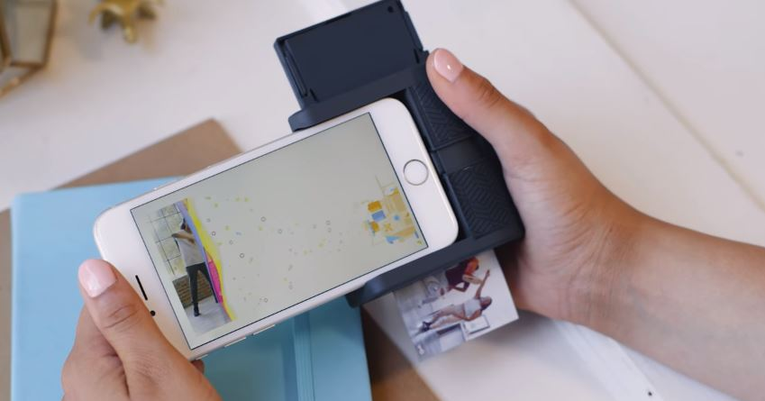 New Gadget Allows iPhone to Print 'Moving' Pictures