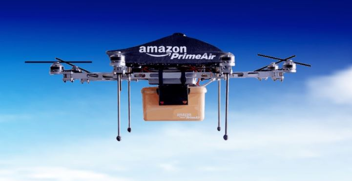 Amazon Gets Patent for Delivery Drones with Gesture and Voice Recognition