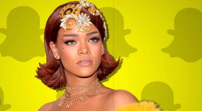 Snapchat's Stock Takes a Hit After Posting 'Slap Rihanna' Game