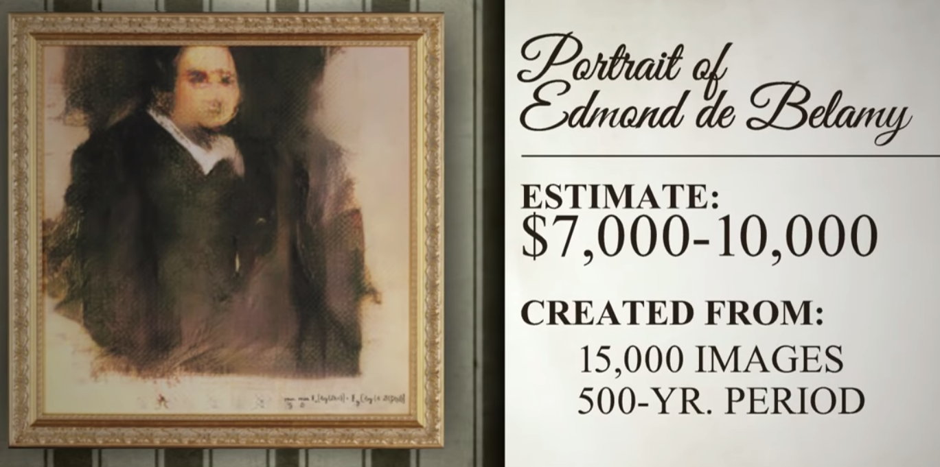 Christie's Says AI Art is Not a Masterpiece, But Good Enough