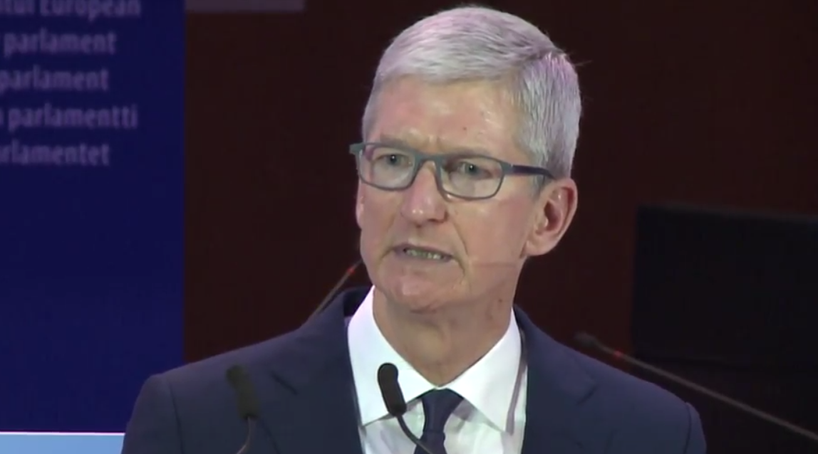 Apple CEO: Our Own Information is Being Weaponized Against Us (Full Text of Speech + Video)