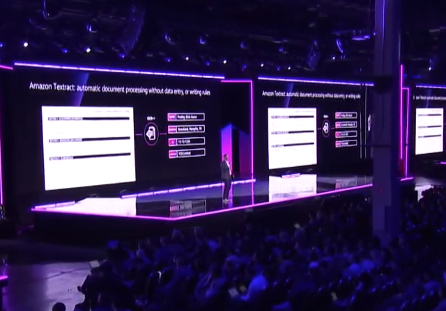 AWS CEO Announces Textract to Extract Data Without Machine Learning Skills