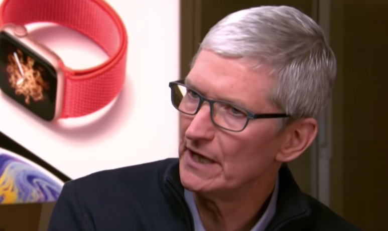 Apple CEO Tim Cook Sees Services Growth as Their Future