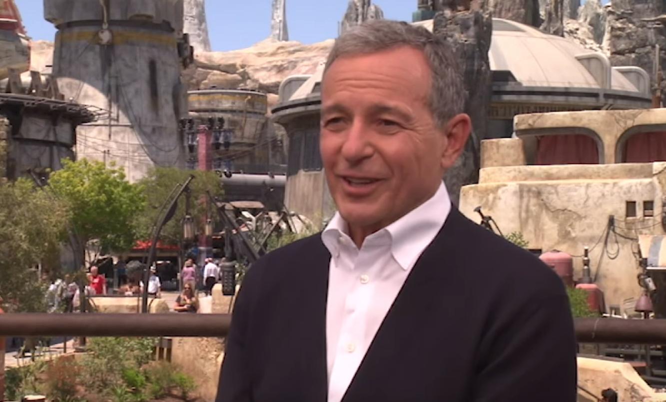 Disney CEO Bob Iger at 'Star Wars: Galaxy's Edge in Disneyland
