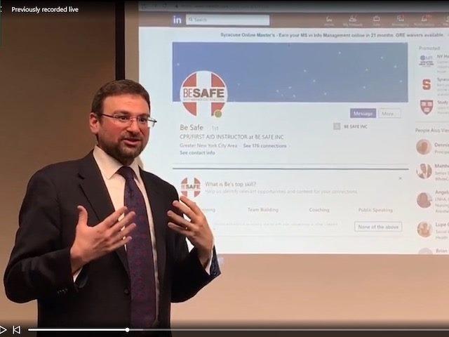 LinkedInLive presentation at LinkedInLocal
