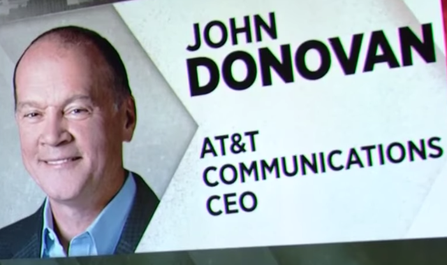 AT&T Communications CEO John Donovan On IBM Alliance: It's Wide, It's Deep, It's Formidable