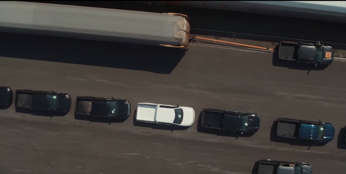 Ford Proves the Power of Its All-Electric F-150 Truck By Pulling Train!