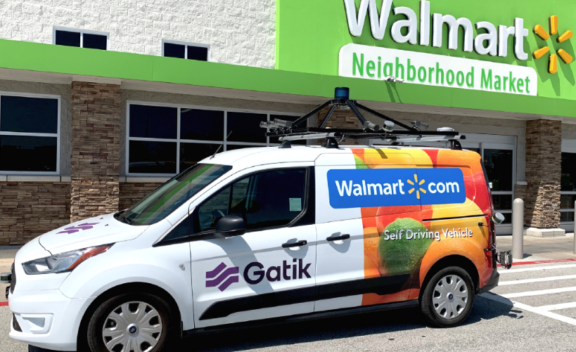 Walmart Testing Self-Driving Delivery Vans, Says Gatik AI CEO Guatam Narang