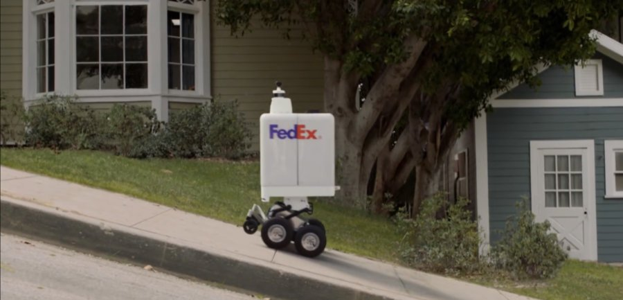 FedEx Roxo
