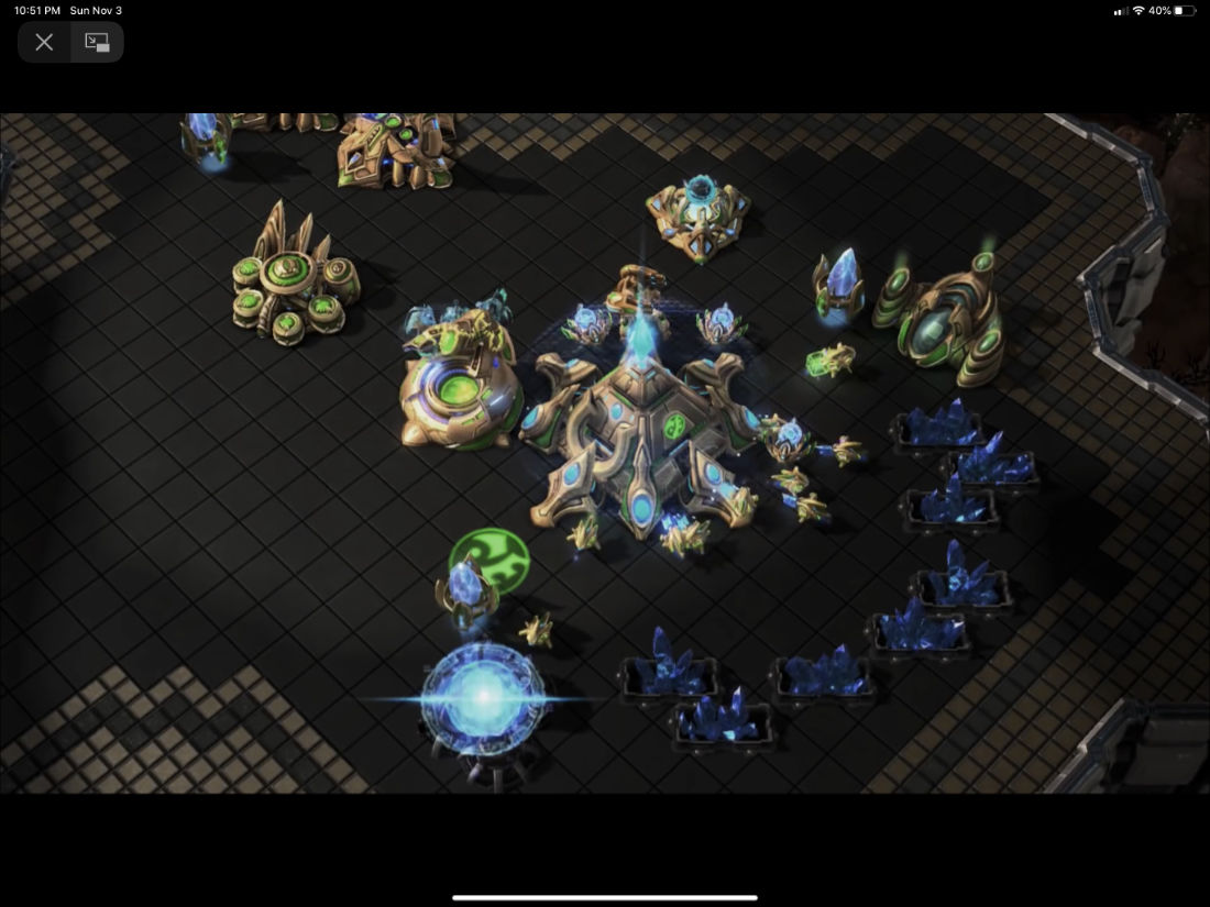 StarCraft Protoss Base