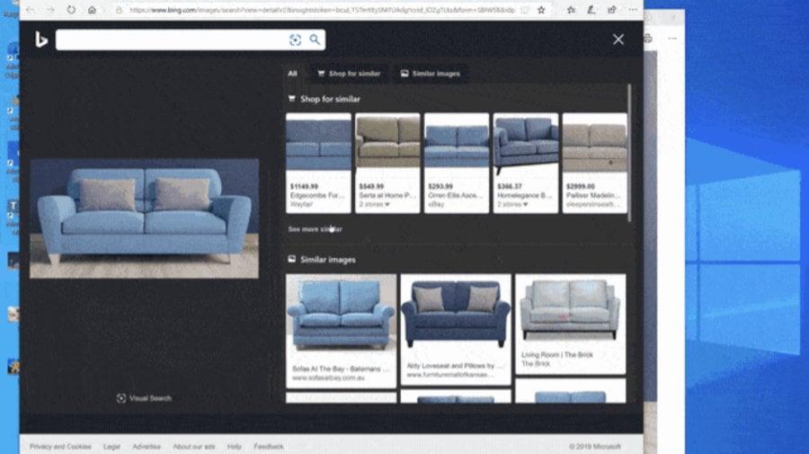 Windows Visual Search