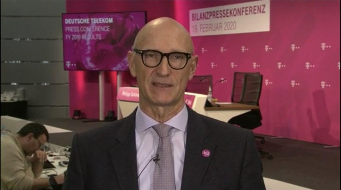 Deutsche Telekom CEO Timotheus Hottges