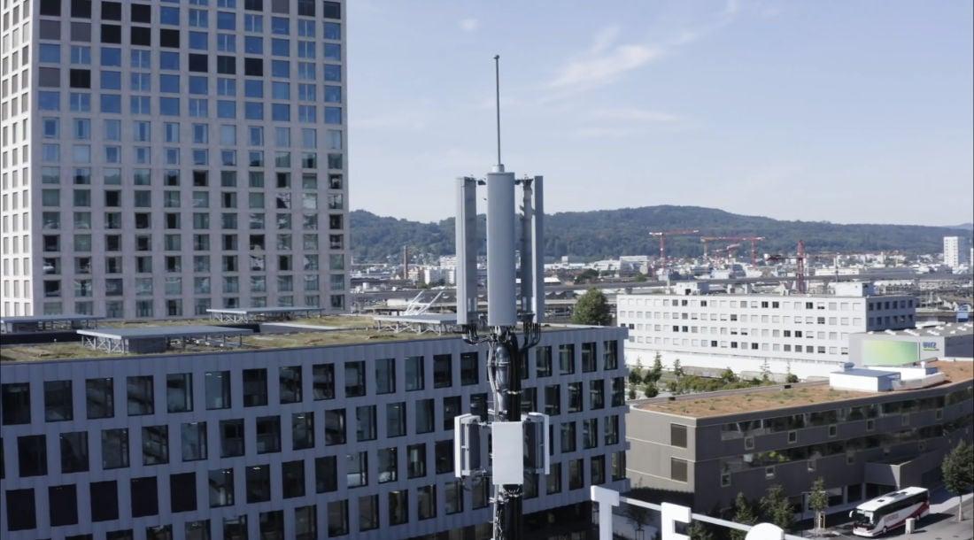 Ericsson Equipment Tower