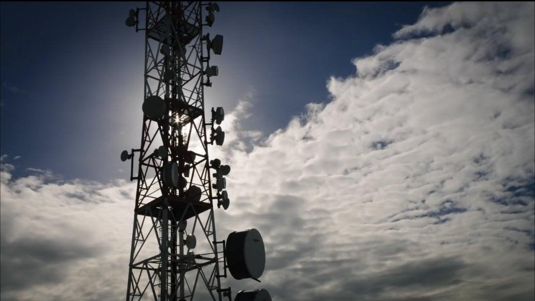 Huawei Equipment Tower