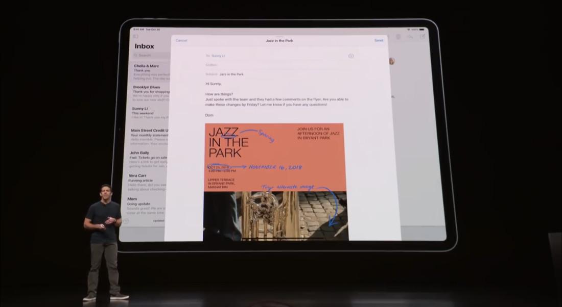 iPadOS Mail App