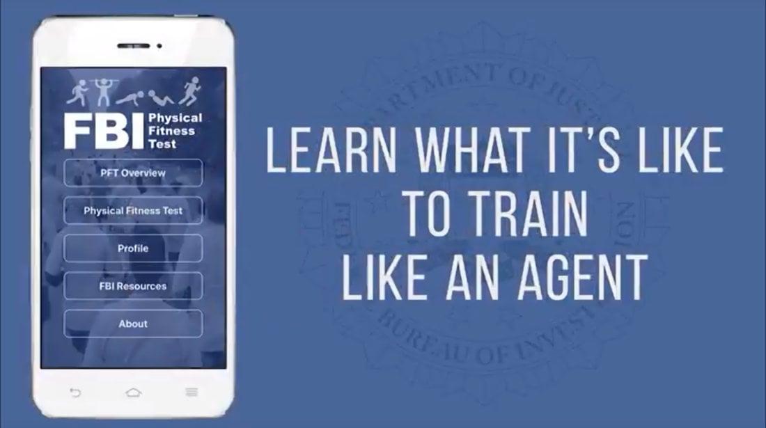 FBI Fitness App