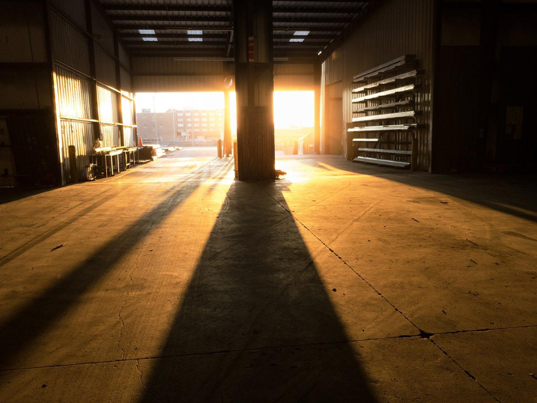 Warehouse Bay - Image by Justin Cobb