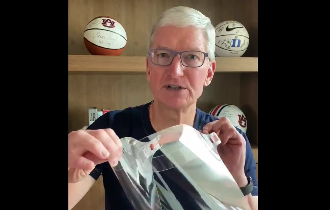 Tim Cook Face Shield