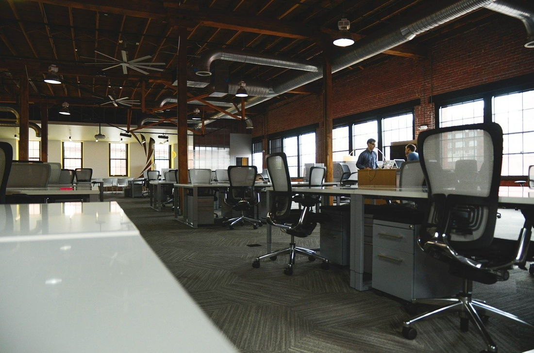 Office Space - Image by StartupStockPhotos