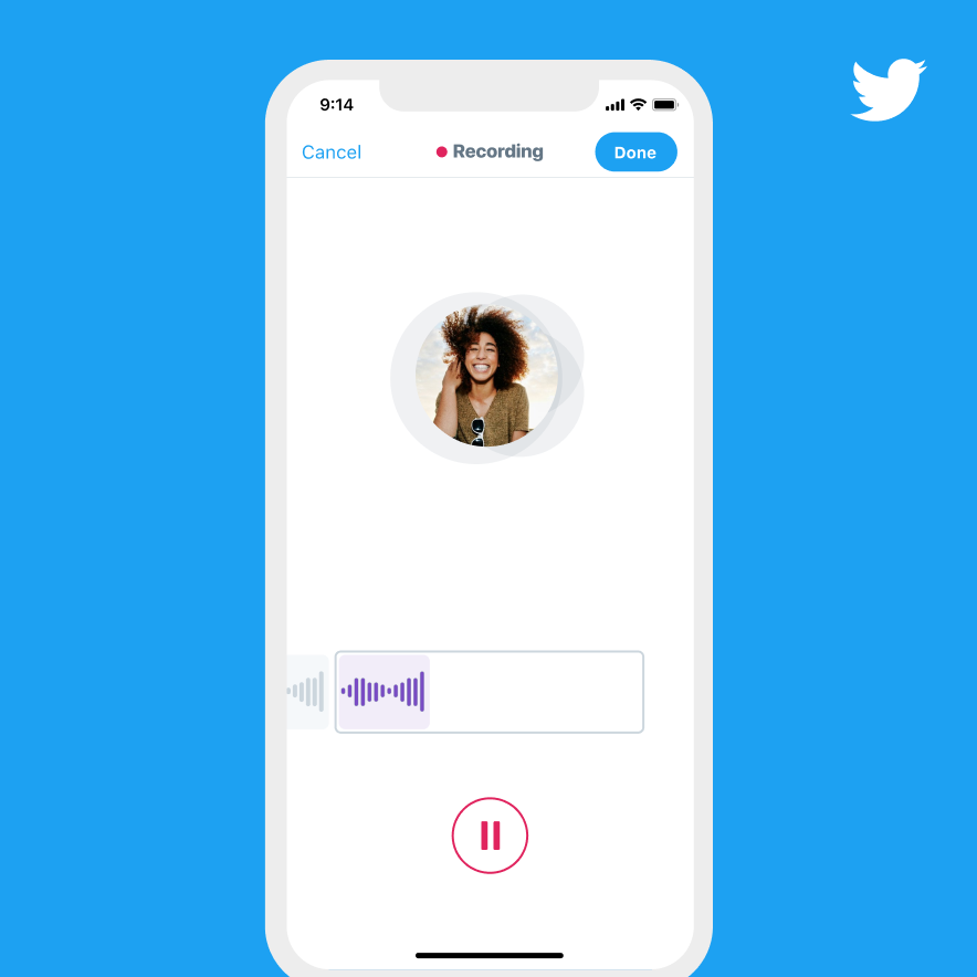Twitter Voice Record