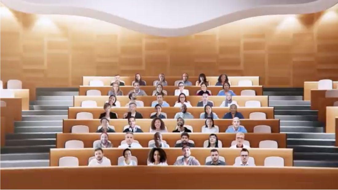 Microsoft Teams Auditorium