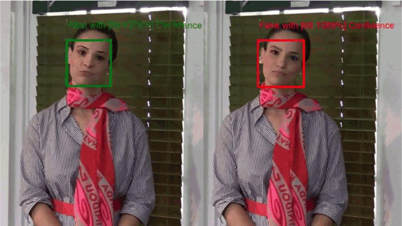 Video Authenticator - Image Credit Microsoft