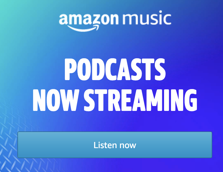 Amazon Now Playing Podcasts
