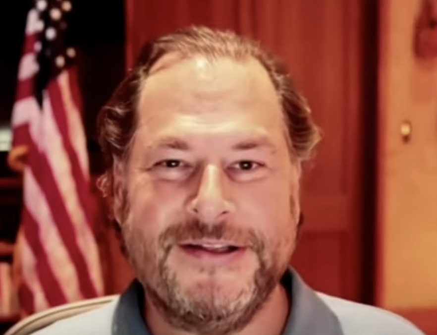 Salesforce CEO Marc Benioff: We Are In A New Digital World