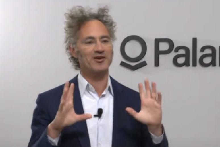 Palantir Technologies co-founder and CEO Alex Karp