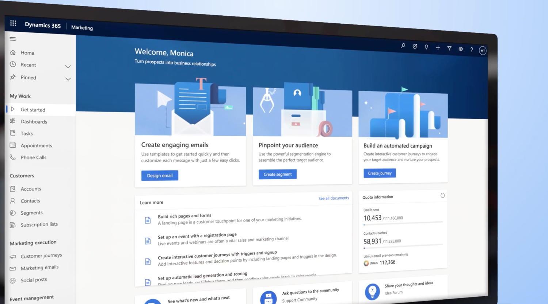 Microsoft Dynamics 365 Marketing