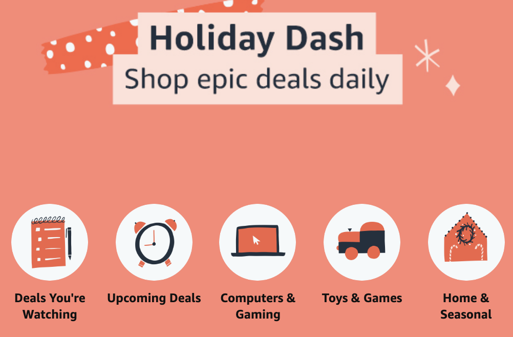 Amazon Announces 'Holiday Dash' Prime Day Every Day