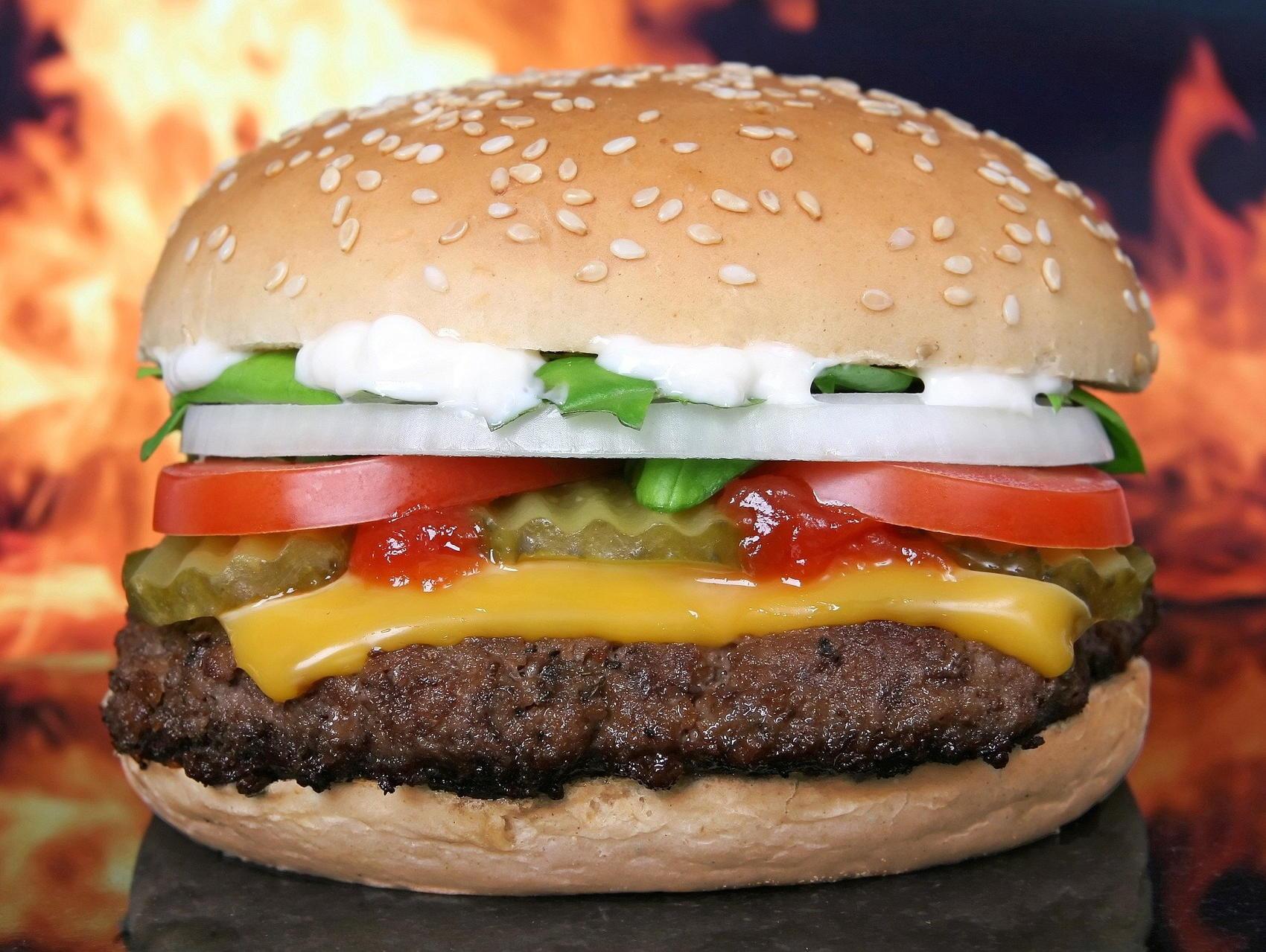 McDonald's Hamburger - Image by Shutterbug75