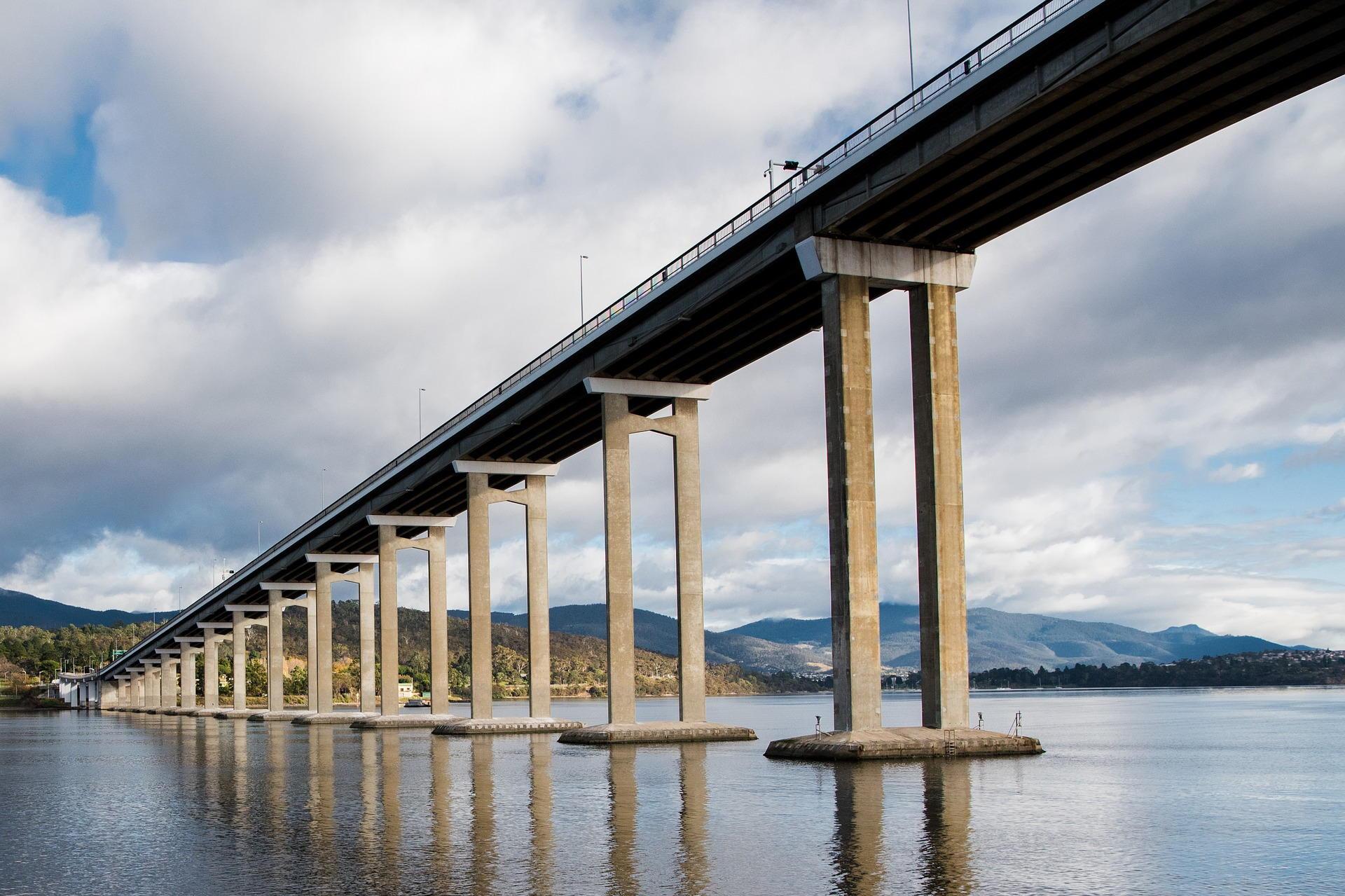 Tasman Bridge - Image by pen_ash