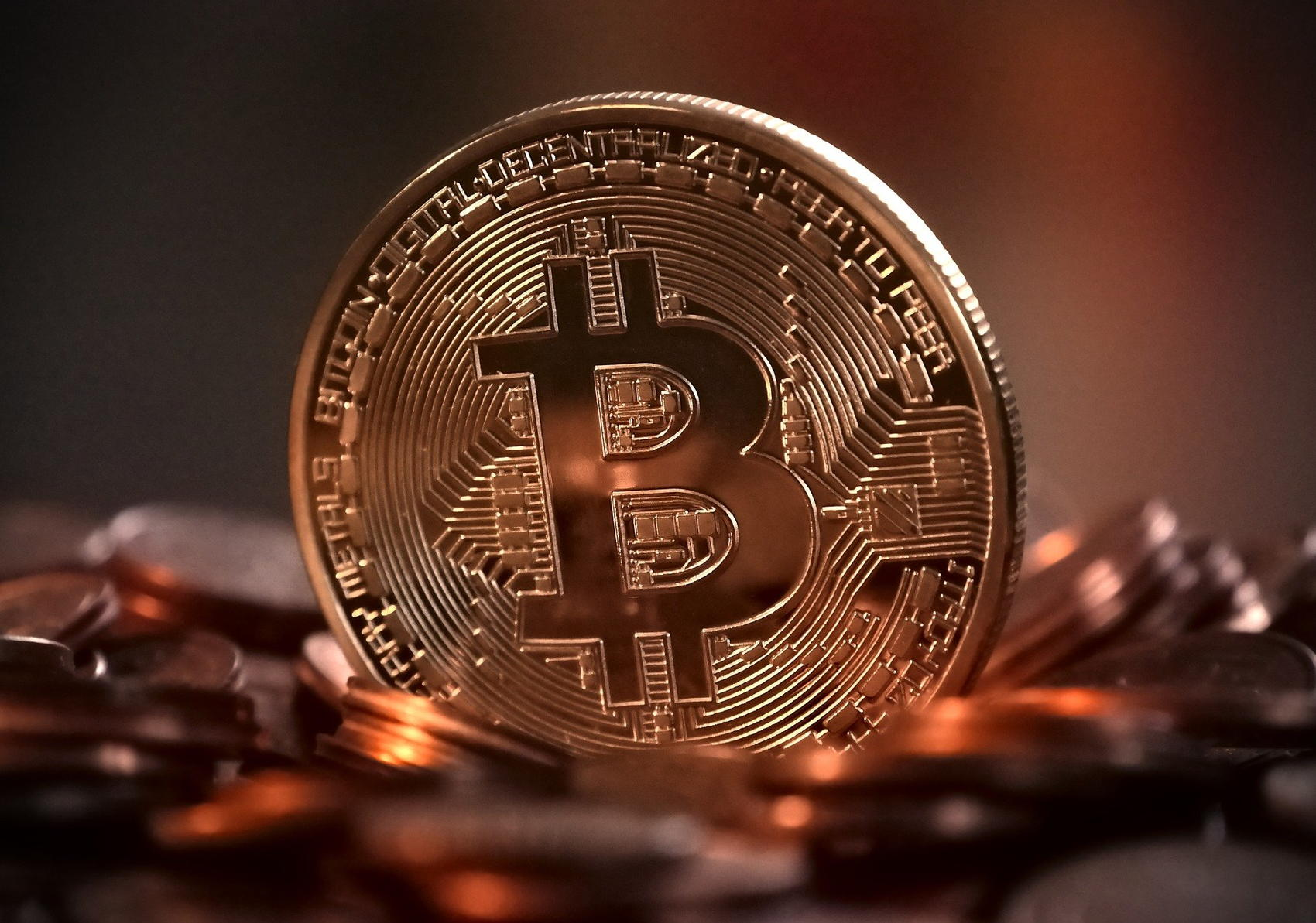 Bitcoin Cryptocurrency - Image by Michael Wuensch