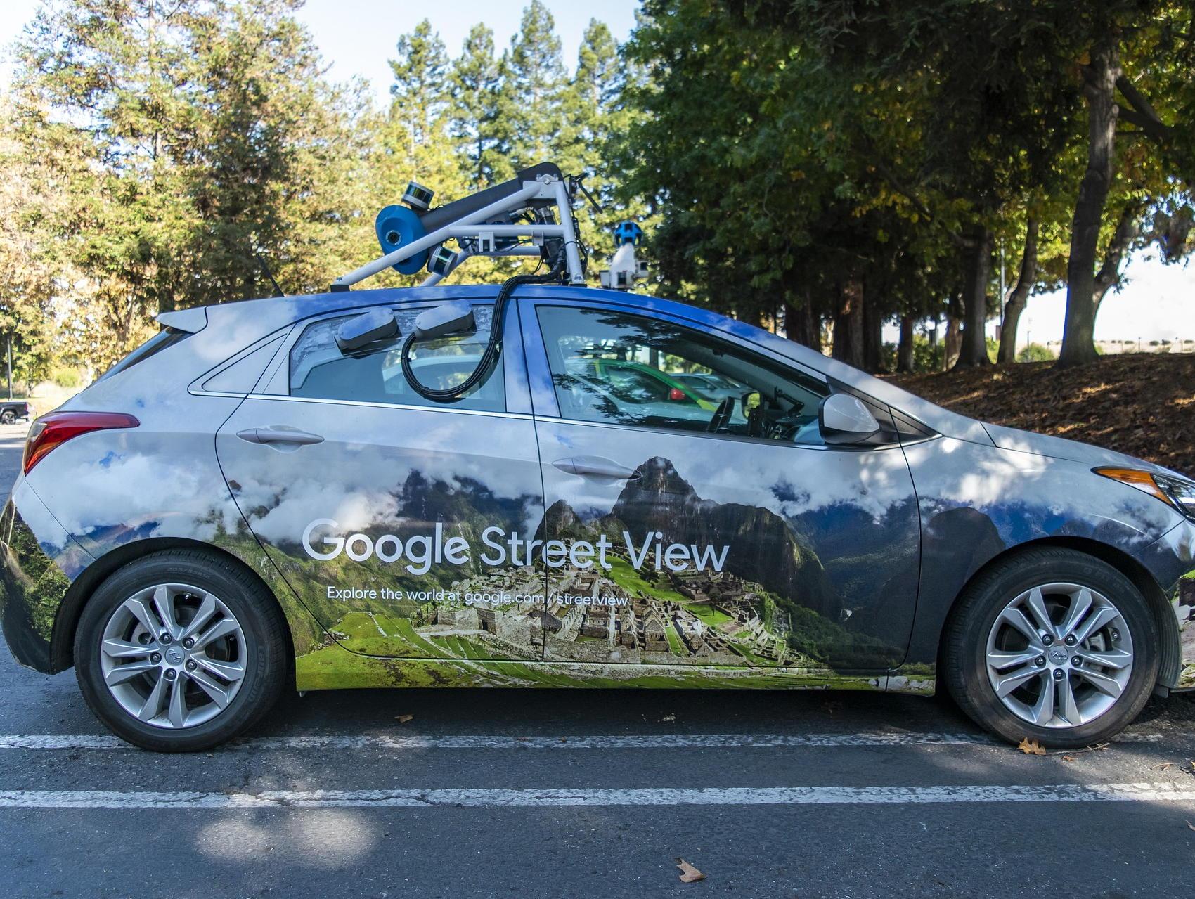 Google Maps Street View Car - Image by Daniel and Jacob Fernandez