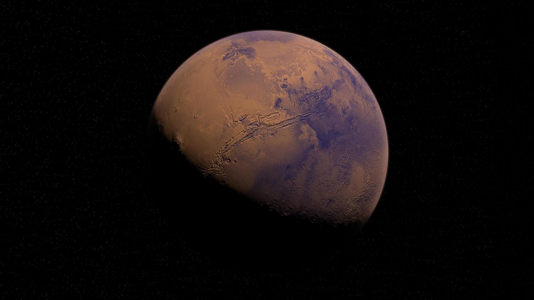 Mars - Image by Alexander Antropov