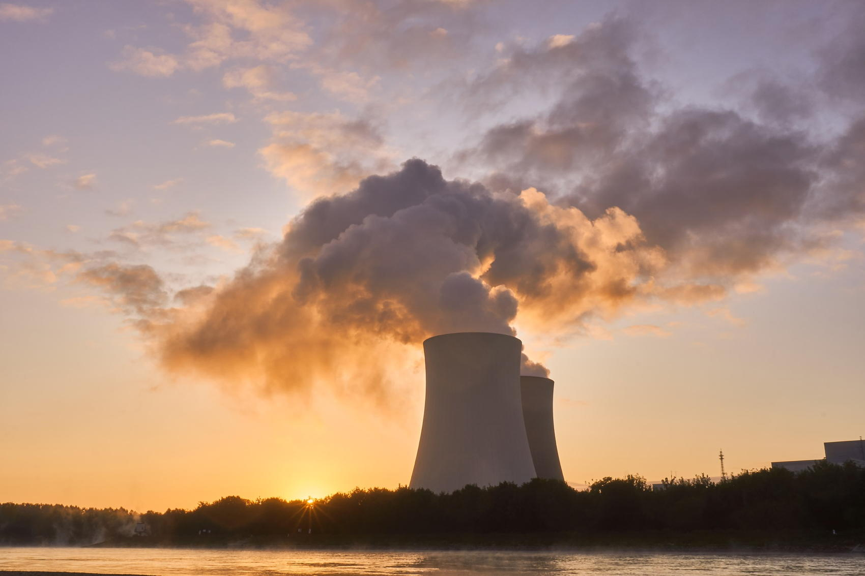Nuclear Power Plant - Image by Markus Distelrath