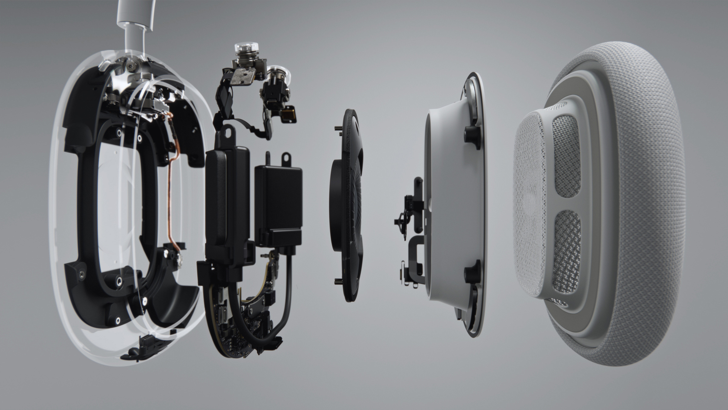 AirPods Max Exploded View