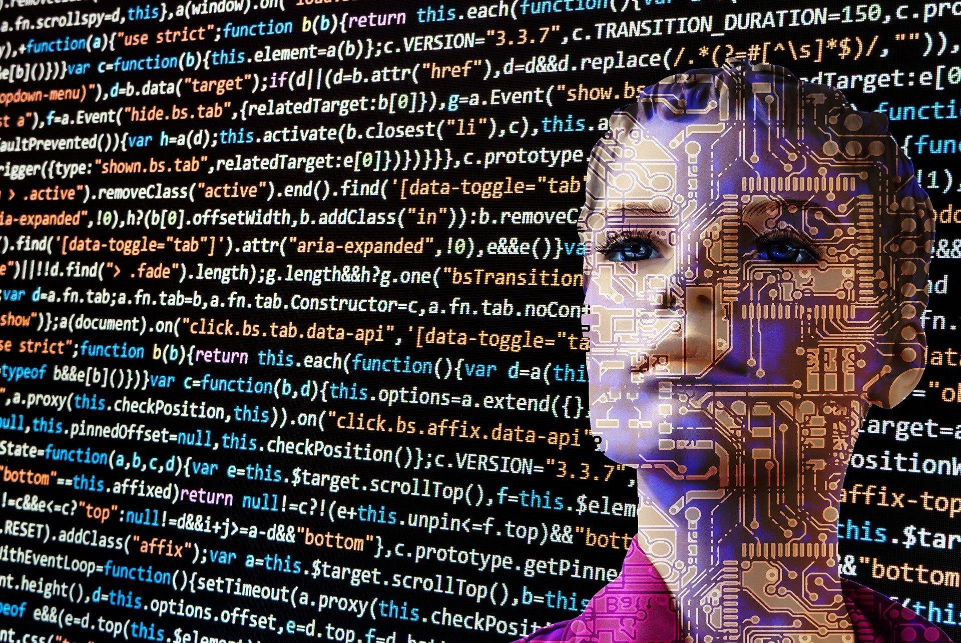 Artificial Intelligence - Image by Gerd Altmann