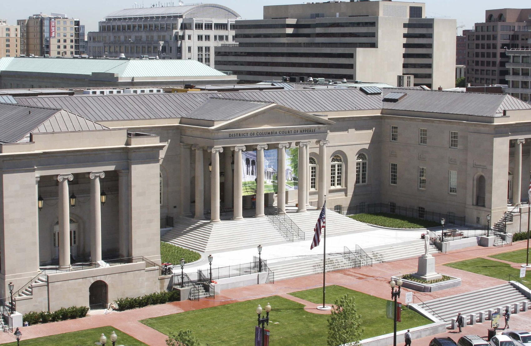 Historic Courthouse Judiciary Square - Image by DCCourts